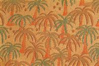 1044311 ORANGE GROVE Tropical Jacquard Fabric