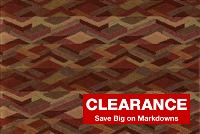 1047517 PRISM REDWOOD Jacquard Upholstery Fabric