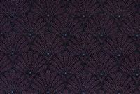 1312819 VIOLET FAN Jacquard Fabric
