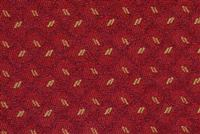 1320814 ANTIQUE RED Lattice Jacquard Upholstery Fabric