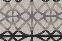 1914911 ATHENIA MIDNIGHT Lattice Linen Blend Upholstery Fabric