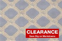 199616 VAN ALEN PEWTER Lattice Jacquard Fabric