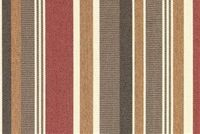 Sunbrella 5612-0000 BRANNON REDWOOD Stripe Indoor Outdoor Upholstery Fabric