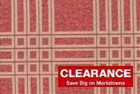 5430012 RED Plaid Fabric