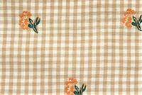 5439017 SUNRISE Check Upholstery Fabric