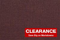 5457022 RAISIN Solid Color Linen Blend Fabric