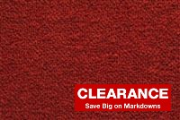 5460014 CHERRY Solid Color Wool Blend Fabric