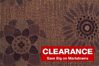 5467414 LEAH TOASTED CHESTNUT Contemporary Jacquard Upholstery Fabric