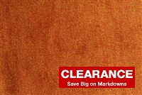 5475514 SANTANA/ORANGE GLOW Cotton Blend Velvet Fabric