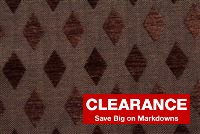5477513 LEEZY/OXFORD BROWN Diamond Chenille Fabric