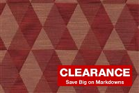 5477713 KANE/WINDSOR BURGUNDY Diamond Damask Upholstery Fabric