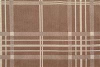 5707714 CHESTNUT/TAUPE Check / Plaid Fabric