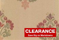 5708714 STRAW Floral Jacquard Fabric