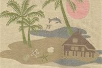 5714312 SANDS Tropical Tapestry Fabric