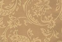 5735112 RUSH/CORNSILK Floral Damask Fabric