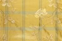 5747012 HUTCHINSON/HONEYBEE Floral Embroidered Silk Fabric