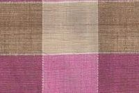5752012 WALTON BLUSH Check Patterned Silk Drapery Fabric