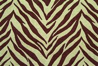 5755513 ZEBRA DARK BROWN/OLIVE Jacquard Fabric