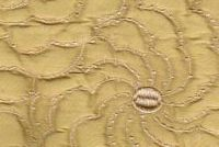 5762139 GAILA GOLD DUST Floral Quilted Silk Fabric