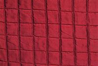 5762220 CLAUDETTE PASSION Check Quilted Silk Fabric