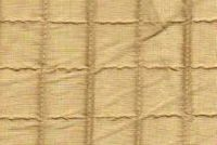 5762228 CLAUDETTE PEANUT Check Quilted Silk Fabric