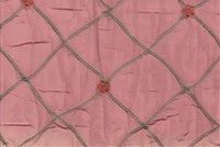 5765928 SARAH / BUBBLE GUM Quilted Silk Fabric