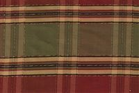 5767511 HANNAH GARDEN Check / Plaid Patterned Silk Fabric
