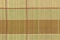 5776211 BURKE/BAY LEAF Check / Plaid Patterned Silk Fabric