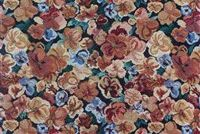594011 BERMUDA EVENING Floral Tapestry Fabric