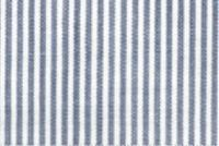 6045011 ESSEX FRENCH BLUE Ticking Stripe Fabric