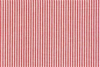 6045013 ESSEX BERRY/WHITE Ticking Stripe Upholstery And Drapery Fabric
