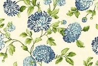 Williamsburg CHARLOTTE BLUEBELL 750461 Floral Print Fabric