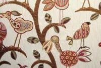Swavelle Mill Creek CRAZY OL BIRD SUNRISE Jacquard Fabric