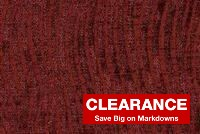 Braemore ZARIA CRANBERRY Chenille Upholstery And Drapery Fabric