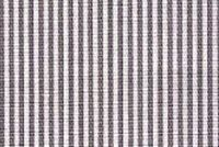Magnolia Home Fashions OXFORD CHARCOAL Stripe Print Upholstery And Drapery Fabric