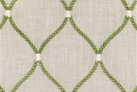 Williamsburg DEANE EMBROIDERY FERN 700502 Lattice Embroidered Drapery Fabric