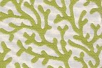6100011 REEF LIME Tropical Jacquard Upholstery And Drapery Fabric