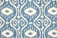 Magnolia Home Fashions BALI YACHT Ikat Print Upholstery And Drapery Fabric
