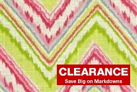 Dena Designs CHEVRON CHARADE PETAL 900100 Linen Blend Fabric
