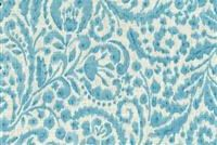 Dena Designs GOOD IMPRESSION AQUA 900111 Floral Linen Blend Fabric