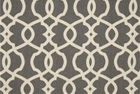 Magnolia Home Fashions EMORY PEWTER Lattice Print Upholstery And Drapery Fabric