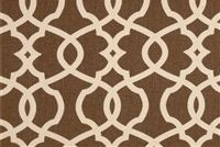 Magnolia Home Fashions EMORY CHOCOLATE Lattice Print Upholstery And Drapery Fabric