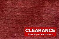6149226 CARAY BERRY Solid Color Chenille Fabric