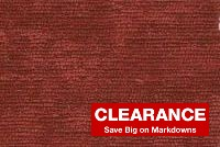 6149227 CARAY MERLOT Solid Color Chenille Fabric