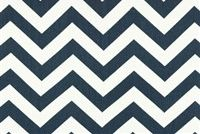 Premier Prints ZIG ZAG BLUE Contemporary Print Fabric