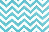 Premier Prints ZIG ZAG GIRLY BLUE Contemporary Print Fabric