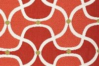 Bella-Dura SCALLOP MAI TAI Lattice Indoor Outdoor Upholstery And Drapery Fabric