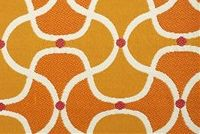 Bella-Dura SCALLOP MANGO Lattice Indoor Outdoor Upholstery Fabric