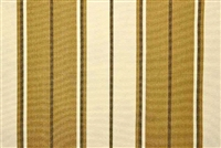 Bella-Dura SUMMERTIDE CINNAMON Stripe Indoor Outdoor Upholstery And Drapery Fabric