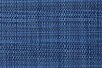 Bella-Dura GRASSCLOTH INDIGO Solid Color Indoor Outdoor Upholstery And Drapery Fabric